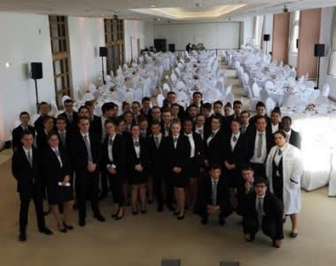 L' école hôtelière de Biarritz au Casino Bellevue en vue du sommet du G7