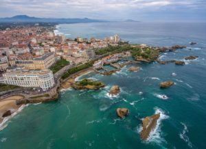 UMIH PaysBasque, vue de Biarritz